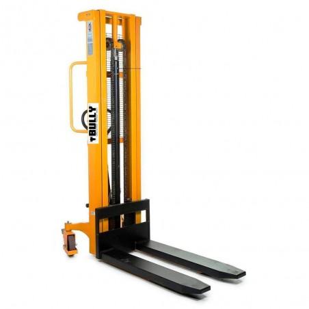 Transpallet elevatore  manuale con pedivella 3000 mm