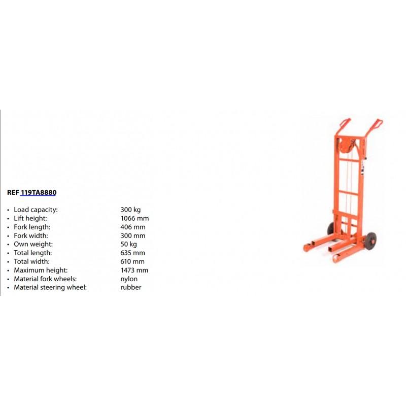 Transpallet manuale Portata 2200 kg