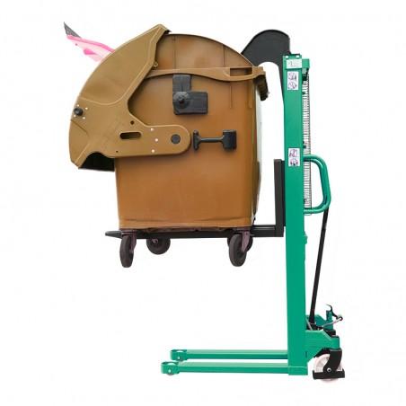 Carrello Transpallet  Manuale Superior da 1500 kg con compattatore immondizia