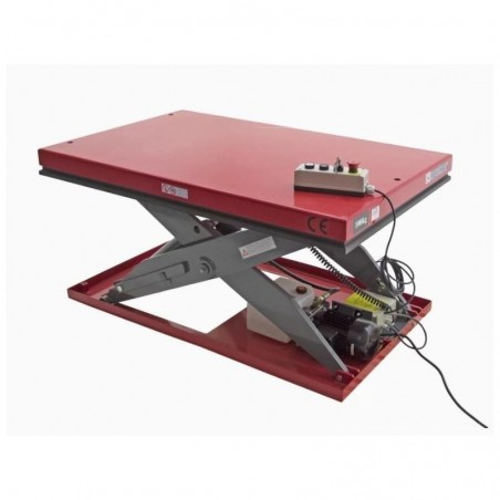 Piattaforma elevatrice a pantografo elettrica 1000 x 2000 1000kg