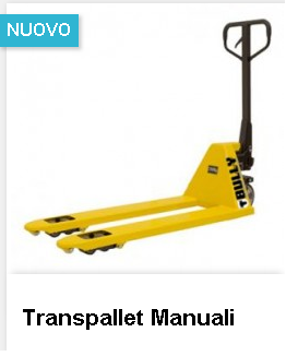 transpallet manuali